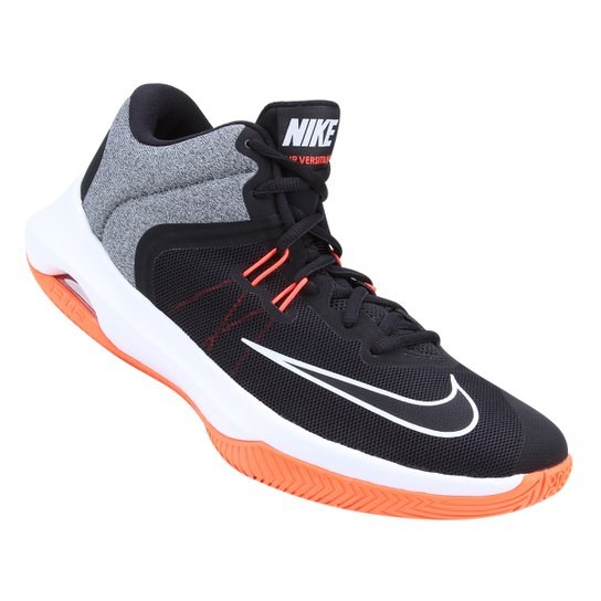 7109565b7 Tênis Nike Air Versitile II Masculino - Cinza e Laranja | Netshoes