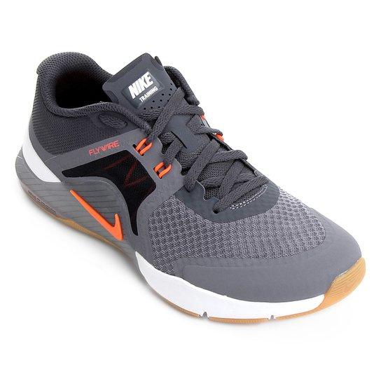a01b187a7983 Tênis Nike Zoom Train Complete 2 Masculino - Cinza e Laranja ...