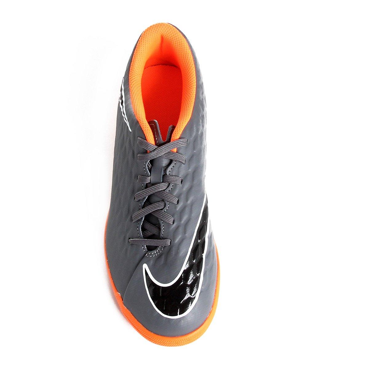 more photos 7fae6 7e5d3 Chuteira Futsal Nike Hypervenom Phantom 3 Club IC - Tam: 44 ...