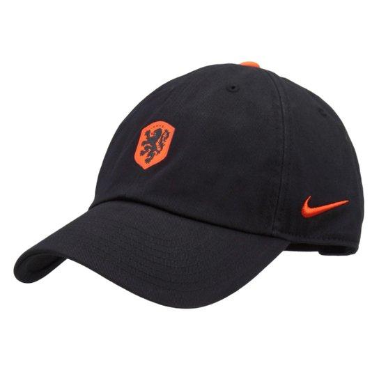 0c61710016a09 Boné Nike Seleção Holanda Aba Curva H86 Core - Compre Agora