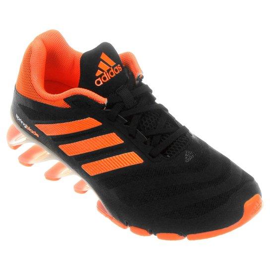 40b7b86f329 Tênis Adidas Springblade Ignite 2 Infantil - Preto+Laranja. Regras da  promoção