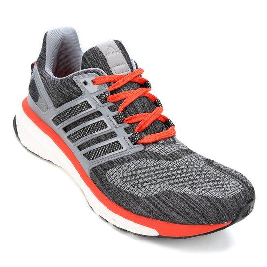 Tênis Adidas Energy Boost 3 Masculino - Laranja e Cinza - Compre ... 0792f8fa2149d