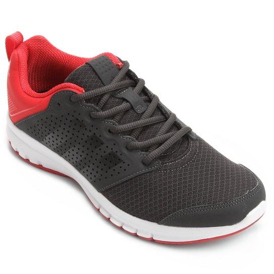 Tênis Adidas Madoru Masculino - Cinza+Vermelho 55034fccda89c