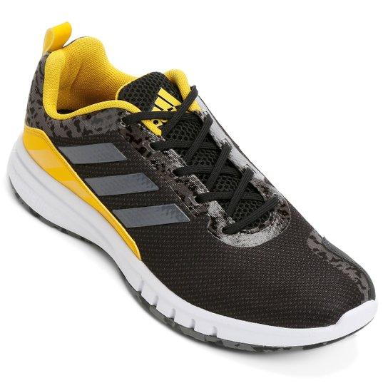 1c6fde8c8f9 Tênis Adidas Skyrocket 2 Masculino - Preto e Amarelo - Compre Agora ...