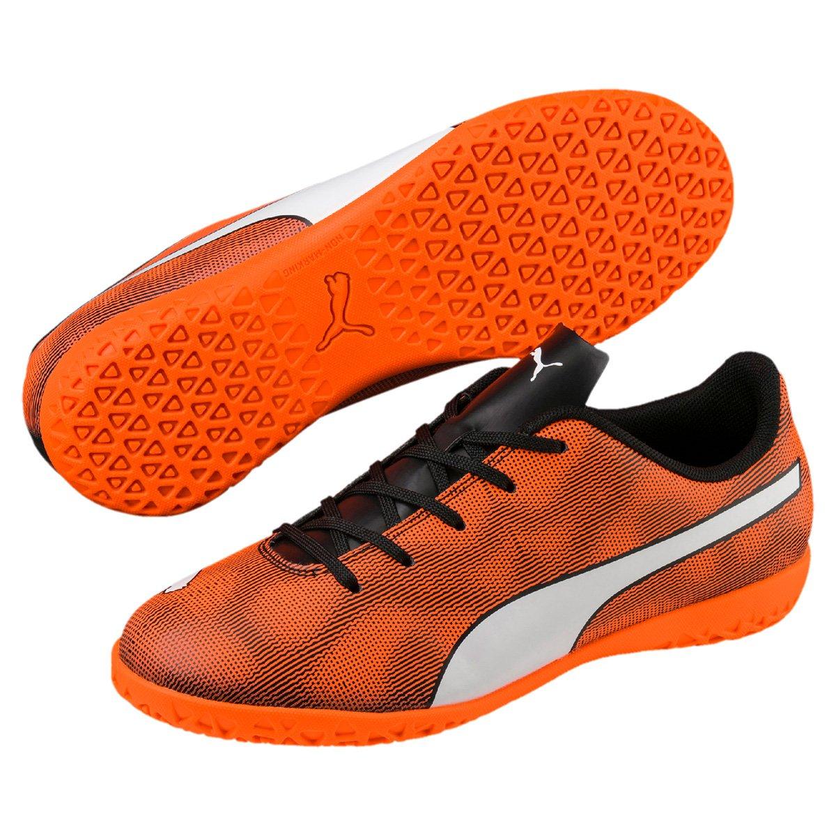 Chuteira Futsal Infantil Puma Rapido IT d49124844e42a