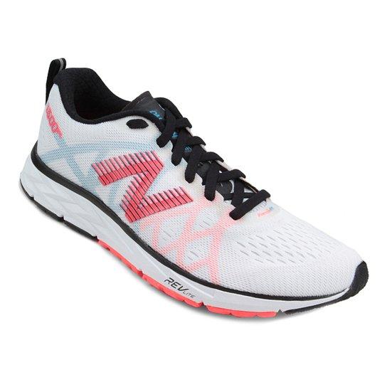 4239354a0b5 Tênis New Balance 1500 V4 Feminino - Branco+Laranja