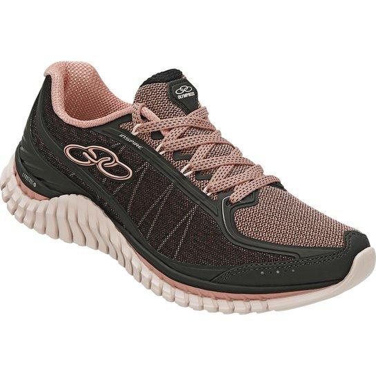 8d46239fd9613 Tênis Olympikus Inspire Feminino - Preto e Rosa | Netshoes