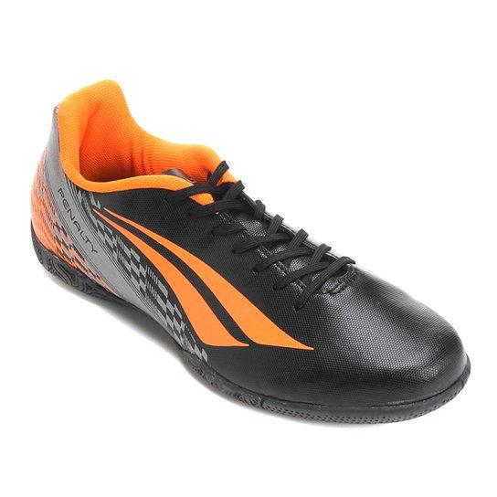 444f766d72 Chuteira Futsal Penalty Storm 7 Masculina - Preto e Laranja - Compre ...
