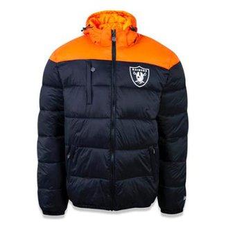 56d22d1e6 Jaqueta Bomber Oakland Raiders NFL New Era Masculina
