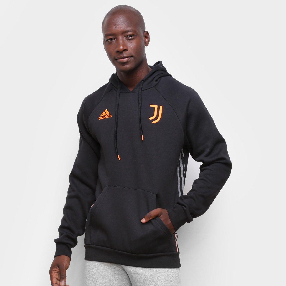 Moletom Juventus Adidas Viagem 21/22 Masculino