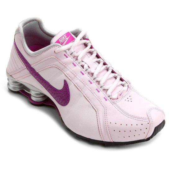online store 87a0e 28c62 nike shox junior rosa feminino