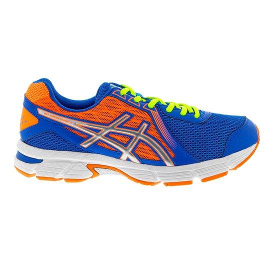 0d47a2e2fa Tenis Running Asics Gel-Impression 8 - Azul Royal+Laranja