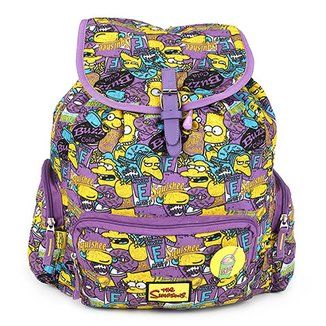 78439b0f18e Mochila Infantil Pacific Simpsons Squishee Feminina