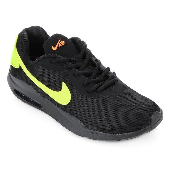 99b1e57e073650 Tênis Nike Air Max Oketo Masculino - Preto e Verde Limão | Netshoes