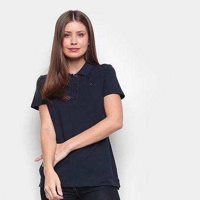Camisa Polo Tommy Hilfiger Core Heritage Feminina