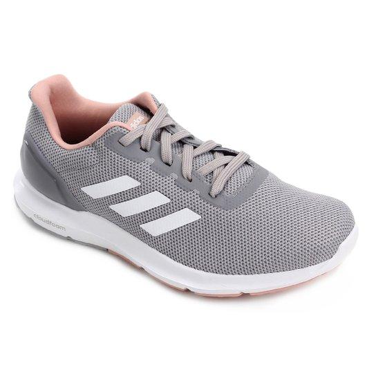 dffb4ff8cb6 Tênis Adidas Cosmic 2 Feminino - Cinza e Rosa - Compre Agora