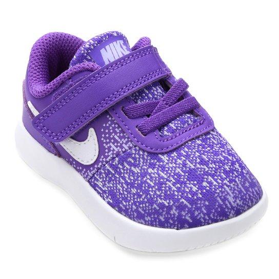 the latest 533c2 54802 Tênis Infantil Nike Flex Contact Tdv - Branco+Roxo