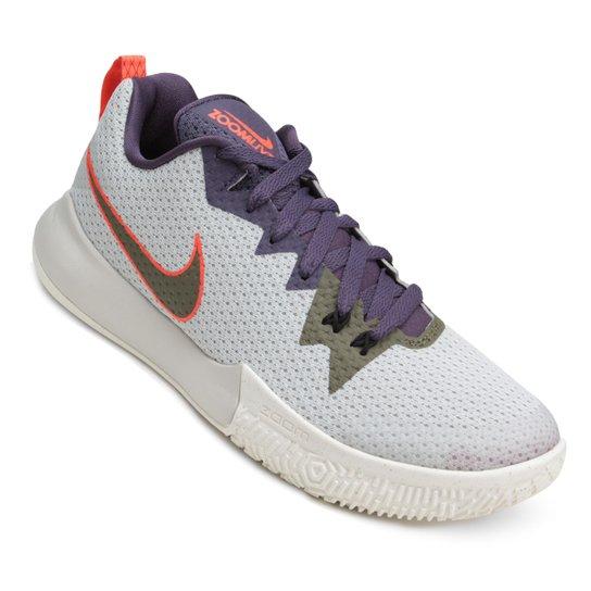 d64d10e3aaa Tênis Nike Zoom Live II Masculino - Branco e Roxo - Compre Agora ...