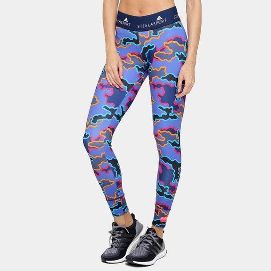 Calça Legging Adidas Stellasport Camo Feminina - Compre Agora  67a5918d95756