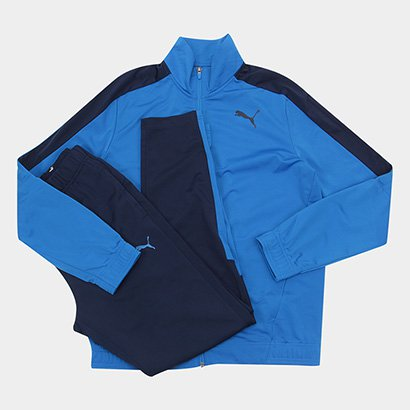 Conjunto Puma Techstripe Tricot Suit Masculino