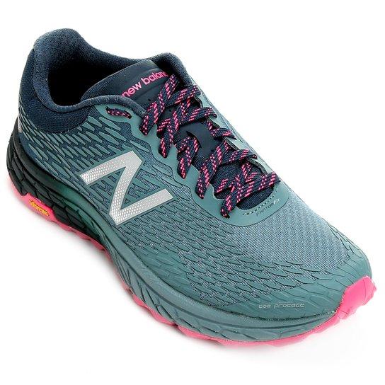 898730175f Tênis New Balance Hierro Feminino - Azul Petróleo+Pink