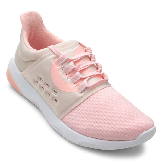 Tênis Asics Gel-Kenun Lyte Feminino - Rosa e Bege - Compre Agora ... 97fd921624d04