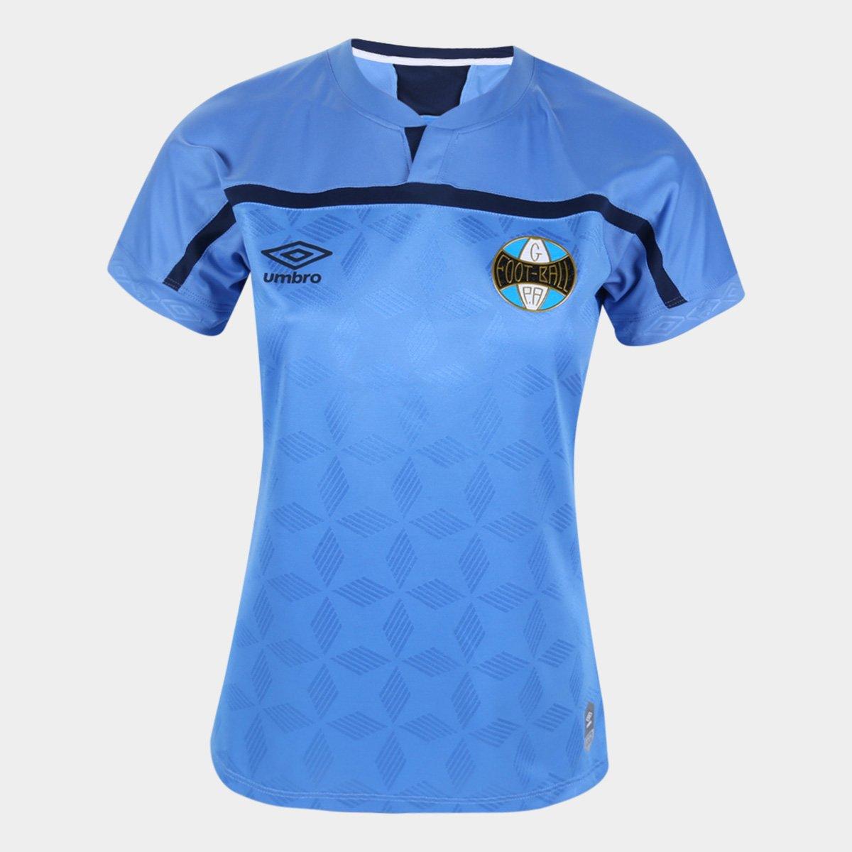 Camisa Grêmio III 20/21 s/n° Torcedor Umbro Feminina