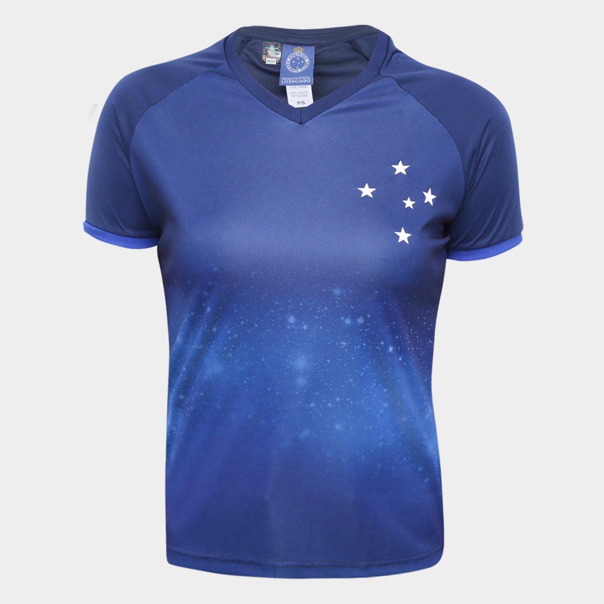 Camisa Cruzeiro Constelação Edição Limitada Feminina