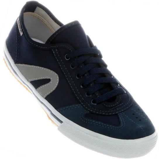250cbfb8436 Tênis Rainha Futsal VL 2500 - Azul e Marinho - Compre Agora