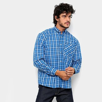 dbe099add749b5 Camisas Masculino Marinho | Netshoes