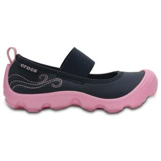 90732f9048 Sapatilha Crocs Infantil Duet Busy Day Mary Jane Ps