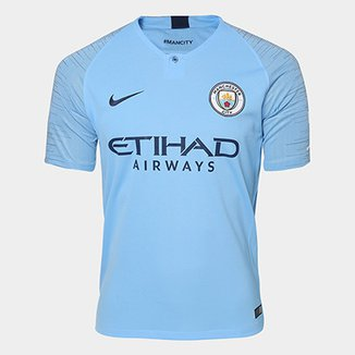 Camisa Manchester City Home 2018 s n° - Torcedor Nike Masculina c1df9ae0e10be