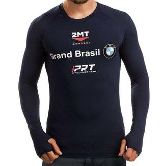 6eda4e38a3 Camiseta Segunda Pele 2mt - Oficial da Equipe BMW