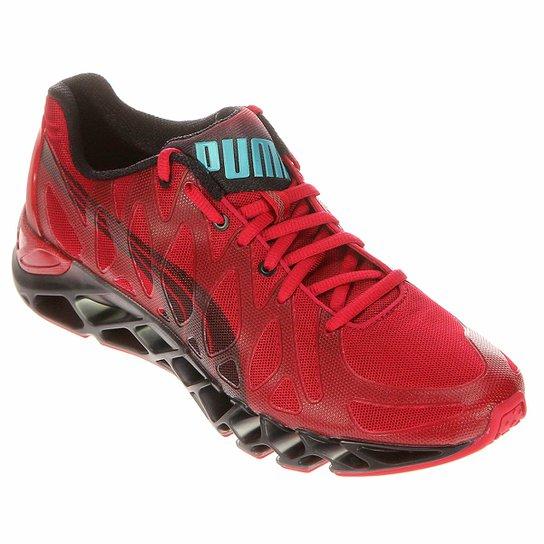 6968582161 Tênis Puma Vertex Masculino - Vermelho Escuro