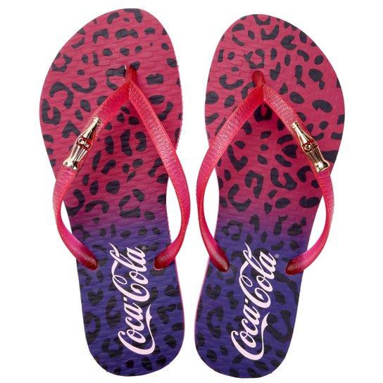 da971a0e9 Sandália Coca-Cola Onça Gradiente - Compre Agora