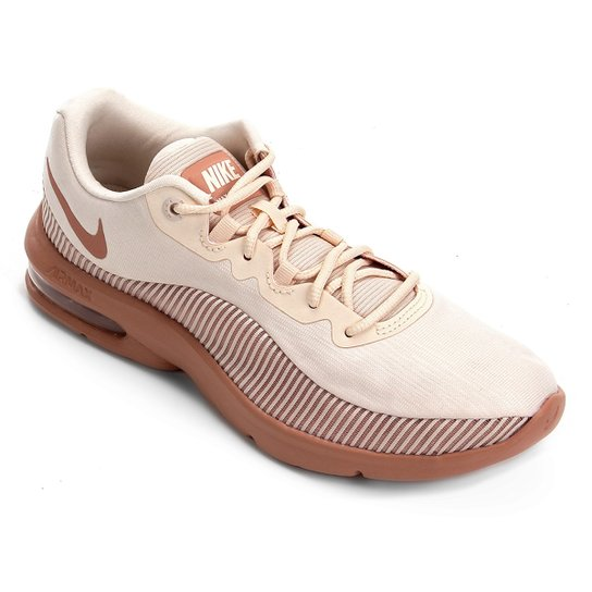 competitive price 9f4a5 b9b69 Tênis Nike Air Max Advantage 2 Feminino - Rose Gold | Netshoes