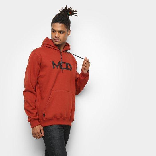 Moletom MCD Capuz Masculino - Vermelho Escuro - Compre Agora  6ff6db57c4a