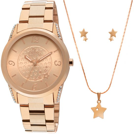 Relógio Allora Feminino - Compre Agora   Netshoes 800ac01837