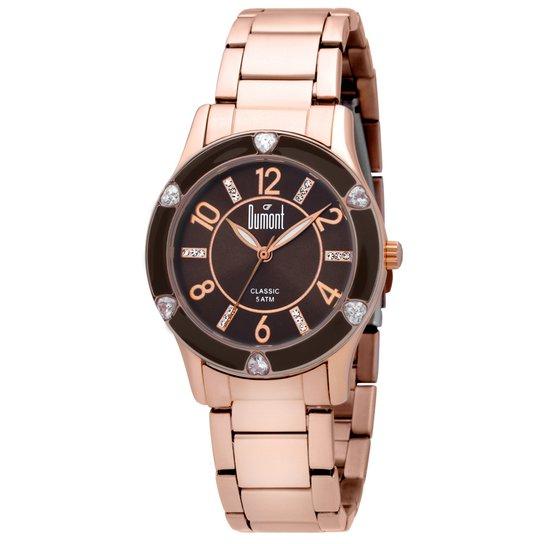 81e395ac1 Relógio Dumont Feminino Rose Gold - Compre Agora