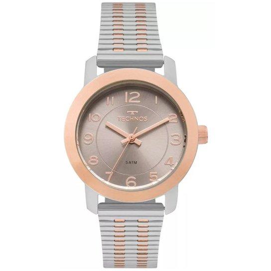 56ffe0e1ea24c Relógio Feminino Technos Elegance 2035Mls 5C - Compre Agora   Netshoes