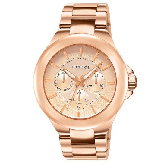 00a33bfdd27 Relógio Technos Feminino Rose Gold - 6P29AEN 4T 6P29AEN 4T - Compre ...