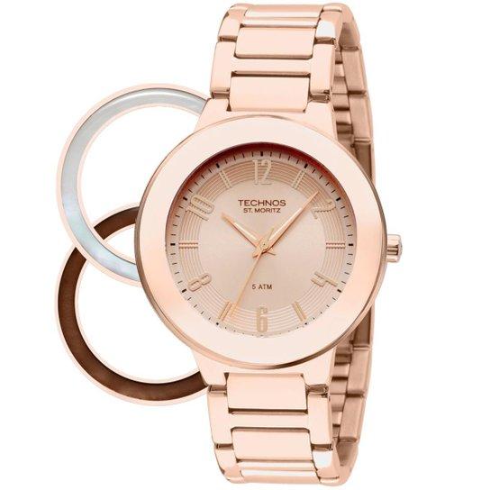3976207b924 Relógio Technos Feminino Rose Gold - 2035LOA 4T 2035LOA 4T - Compre ...