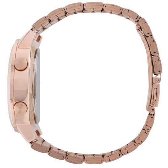 f329827f9 Relógio Feminino Fashion fit EUBJ3279AF/4J - Rose Gold EUBJ3279AF/4J - Rose  Gold