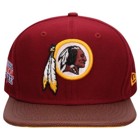 Boné New Era NFL 950 Super Bowl Champion XVII Washington Redskins - Vermelho  Escuro 10cc6b83aeb