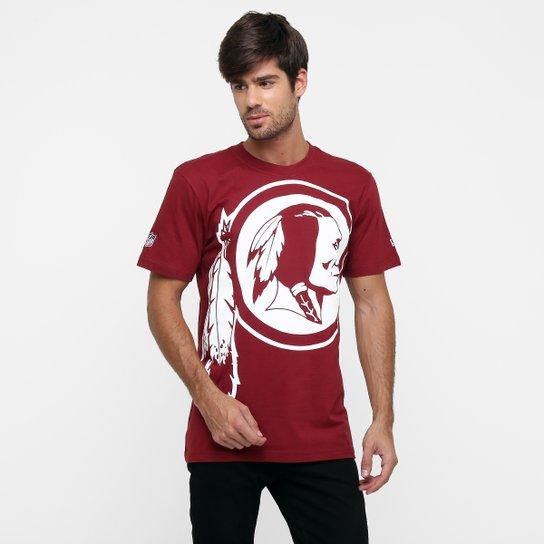 8add82f1e2626 Camiseta New Era NFL Oversize Washington Redskins - Compre Agora ...