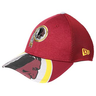 Boné New Era Washington Redskins Aba Curva 3930 On Stage Masculino b513ac7657528