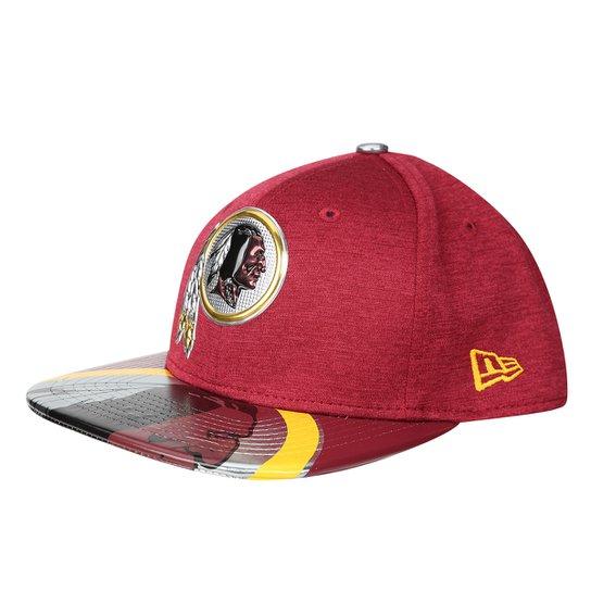 Boné New Era NFL Washington Redskins Aba Reta 950 Original Fit Sn On Stage  Masculino - 044988ed8e0
