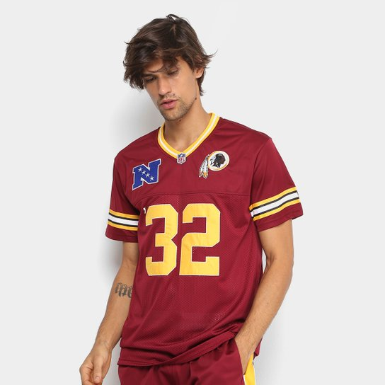26d671ba37 Camiseta NFL Washington Redskins New Era Sports Vein Year Masculina -  Vermelho Escuro ...