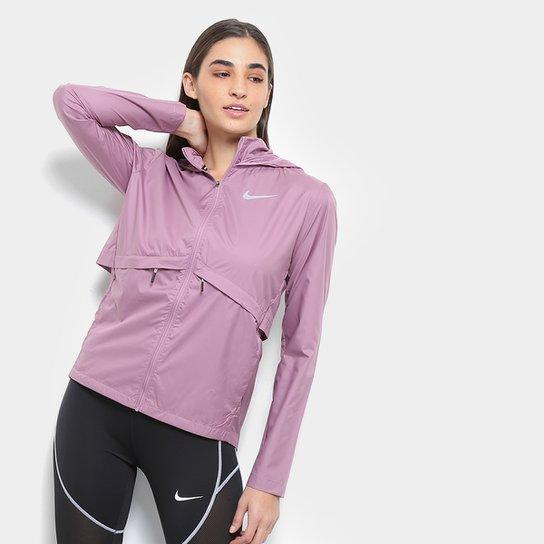 4250f5ef9f Jaqueta Nike Essential HD com Capuz Feminina - Rose Gold
