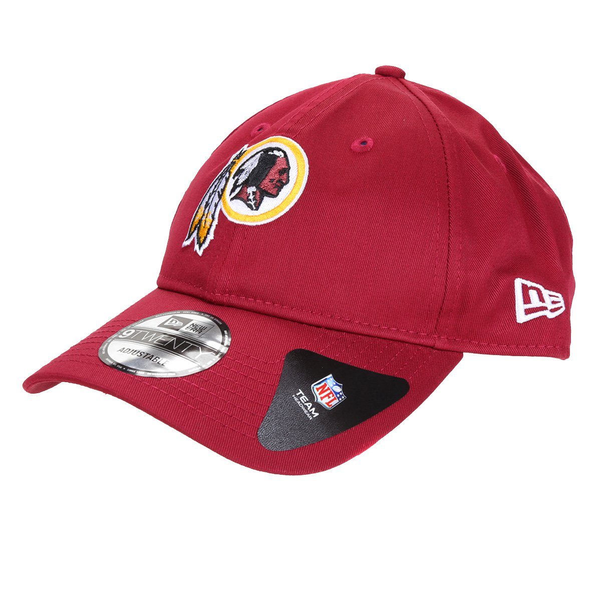 Boné New Era NFL Washington Football Team Aba Curva Strapback 920